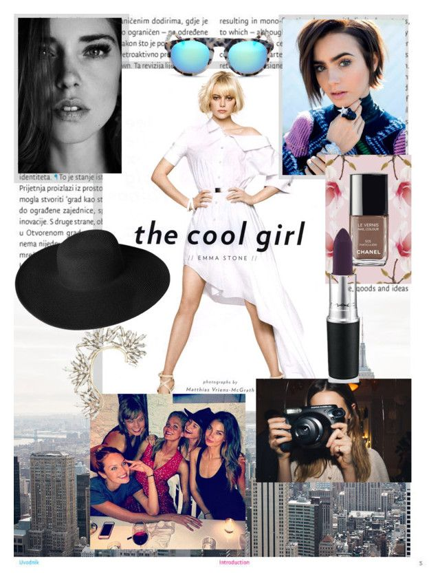 Ways to be a cool girl by style-lovely on Polyvore featuring moda, Dorfman Pacific, Oris and Nasty Gal