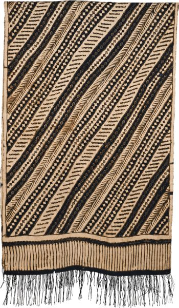 Indonesia Java 20th century Silk - Batik Batik Selendang