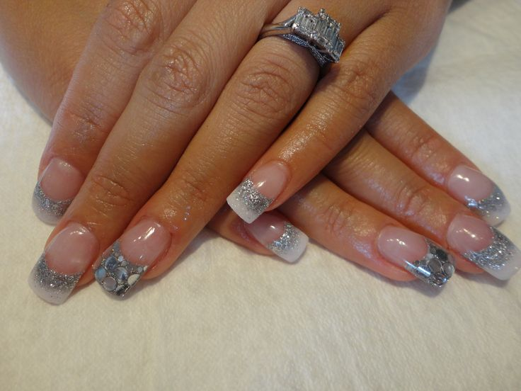 wedding nails!! with young nails acrylicYoung Nails Acrylic