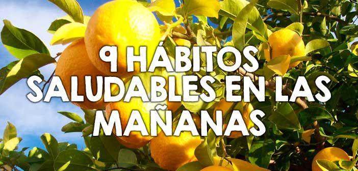 Hábitos saludables para practicar todas las mañanas  http://nutricionysaludyg.com/salud/habitos-saludables-practicar-mananas/