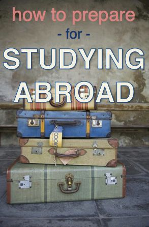 Hopefully I'll be able to study abroad one semester!