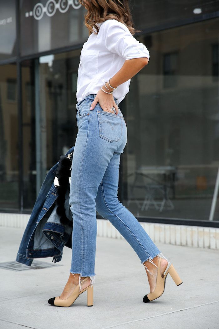 db0e2062 Classic Outfit at Any Age | S T Y L E | Jeans outfit summer, Fashion ...