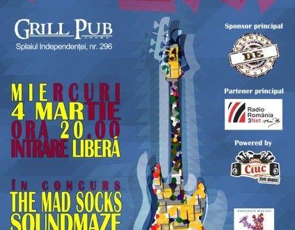 """O nouă seară cu """"Rock Frate!"""" » Jurnal Rock The Mad Socks, SoundMaze şi Mice on the Run! https://www.facebook.com/rockfrate"""