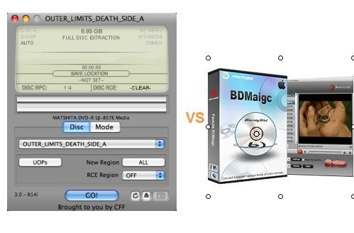 MacTheRipper VS BDMagic for Mac