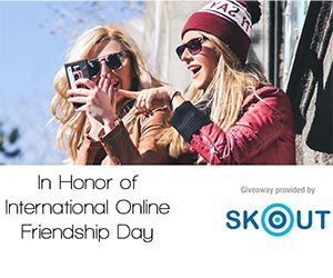 In case you missed it, today is International Online Friendship Day. Not familiar? I'll fill you in! International Online Friendship Day is exactly what it sounds like - a day to celebrate your onl...