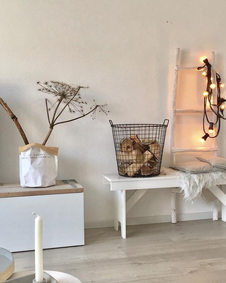 #kwantuminhuis Opbergzak PAPIER > https://www.kwantum.be/wonen/decoratieve-opbergers/overige-opbergers @duifina_love_living