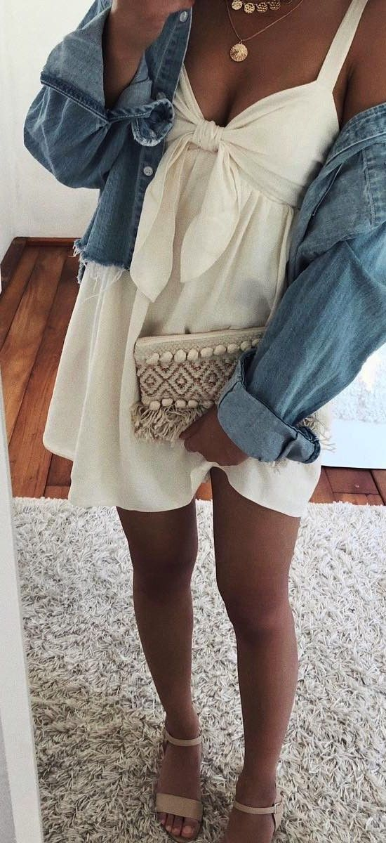 45+ Best Summer Outfits Ideas for Teen Girls #summer #outfits #ootd