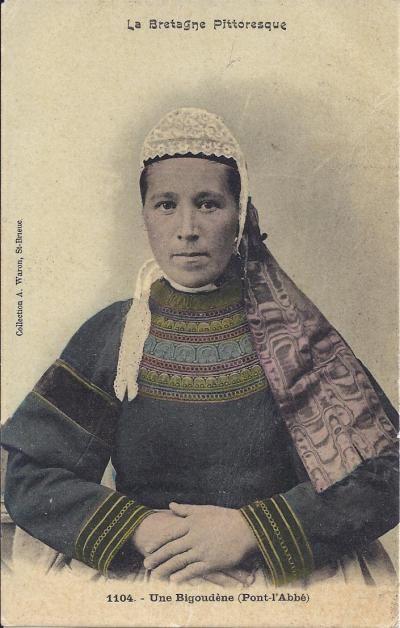 coiffe, costume et bijoux bretons