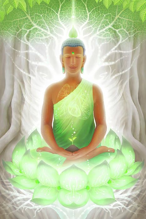 PRANASYNTHESIS … by George AthertonBuddhism, Digital Art, Art Prints, George Atherton, Spirituality, Heart Chakra, Yoga, Visionary Art, Buddha