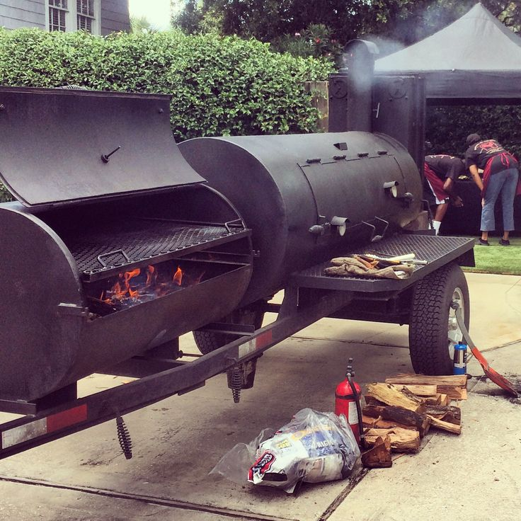 July 4th Catering with the @langsmokercooker