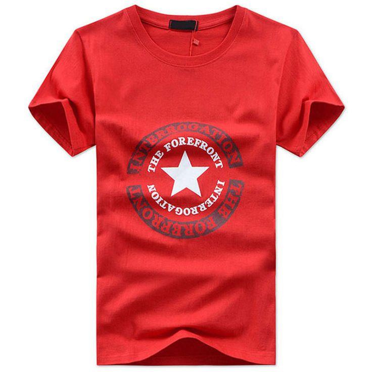 Free shipping 2016 New Mens Summer Tops Tees Short Sleeve t shirt Man large Size 5XL Printed Cotton t-shirt, MT648 wholesale