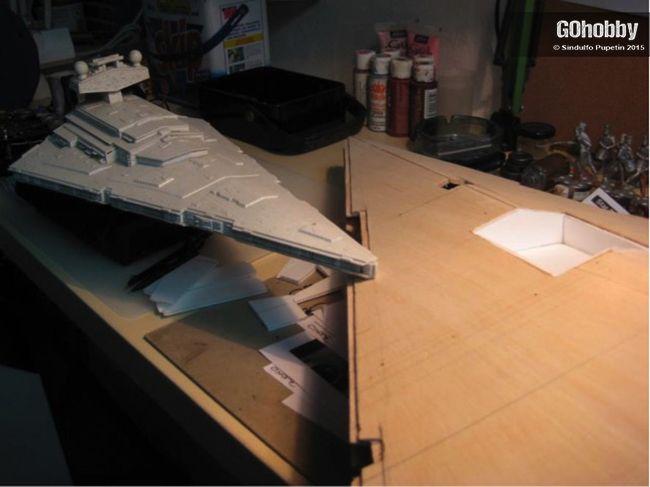 Maqueta Destructor Imperial Star Wars