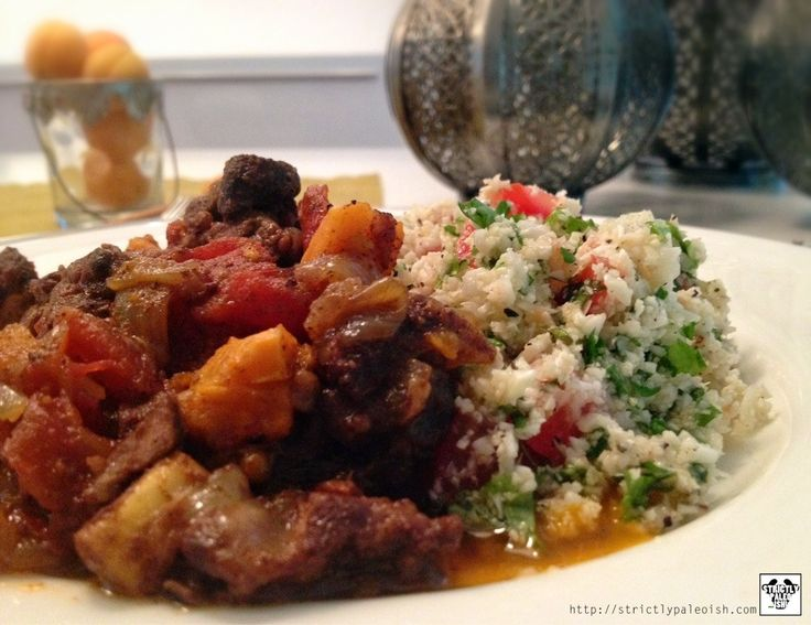 Moroccan Lamb Stew | Paleo / Whole 30 Recipes | Pinterest