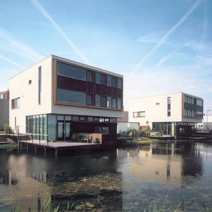 Architectonisch ontwerp 184 eengezinswoningen en appartementen i.o.v. Trebbe Utrecht (BDG, realisatie 2001)