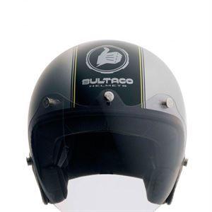 Casco Bultaco Helmets Lobito, transgresora y atrevida linea, con original visera que lo distingue de los otros modelos.www.relojes-especiales.net #atrevido #casco #lobitocasco