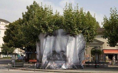 Mentalgassi – Tree Face Image Festival Vevey 2012 http://restreet.altervista.org/la-street-art-del-collettivo-mentalgassi/