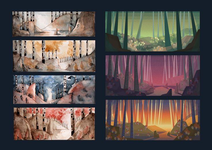 Geronimo: Kalevala - recherches pour notre film de fin de 2ème année!