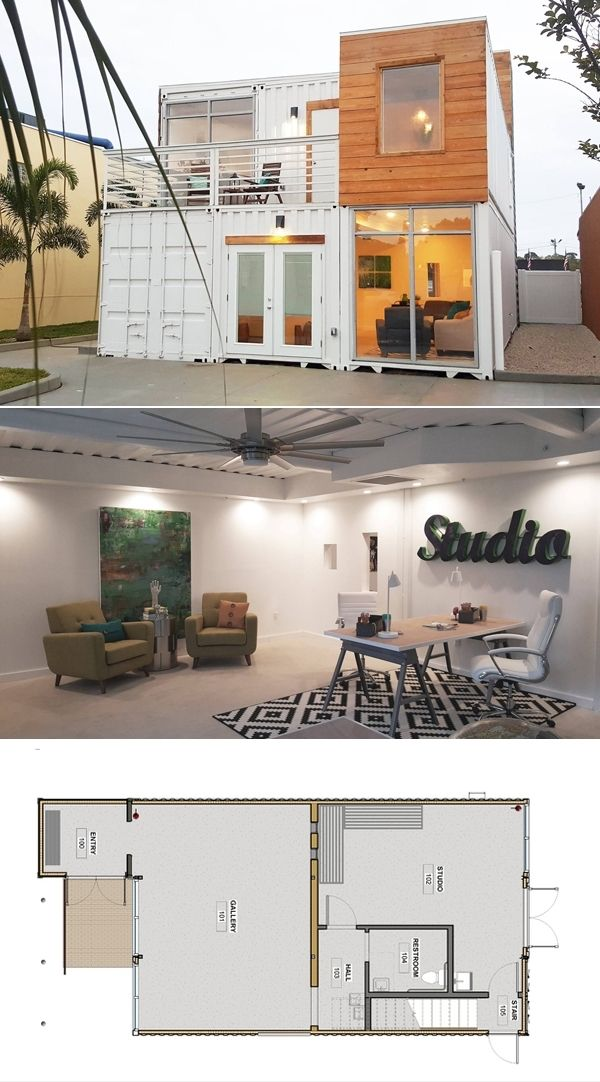 17 best ideas about shipping container houses on pinterest for Maison low cost container