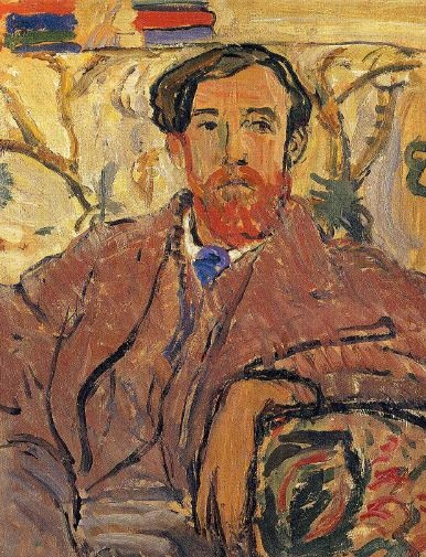 Lytton by Vanessa Bell (1912)