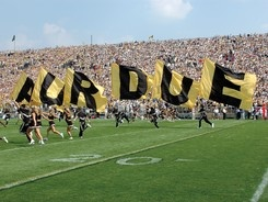 We always love seeing images from Ross Ade Stadium!