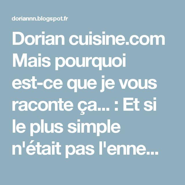 Dorian cuisine.com Mais pourquoi est-ce que je vous raconte ça... : Et si le plus simple n'était pas l'ennemi du meilleur ??? Le plus simple des flans sans pâte !
