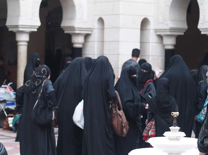 Mujeres en el líbano