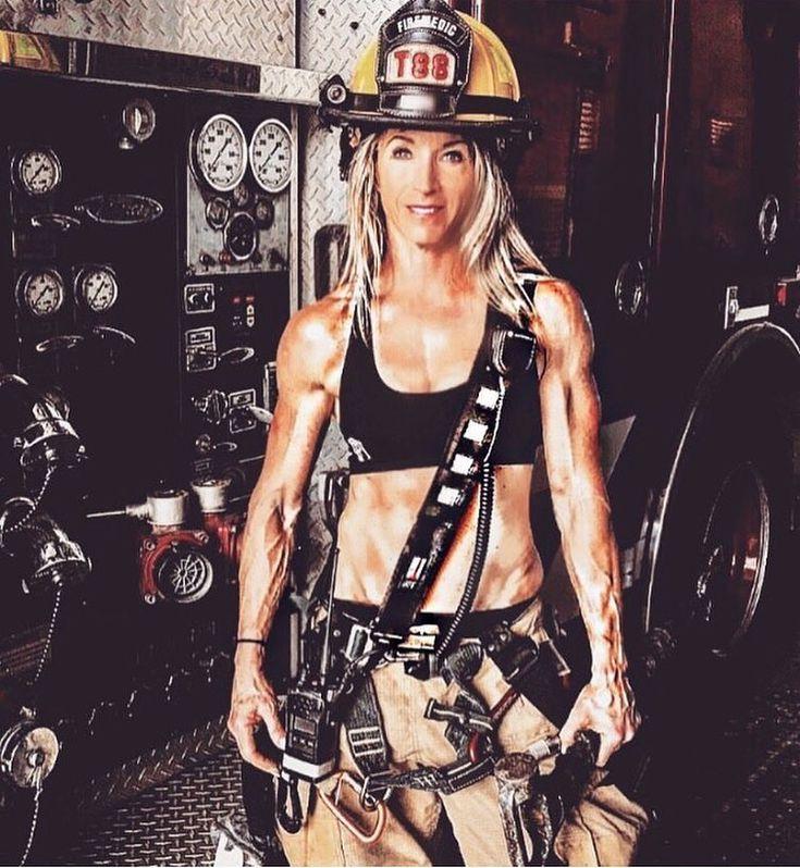 Girl naked female firefighter
