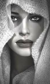 Resultado de imagem para muslim woman drawing