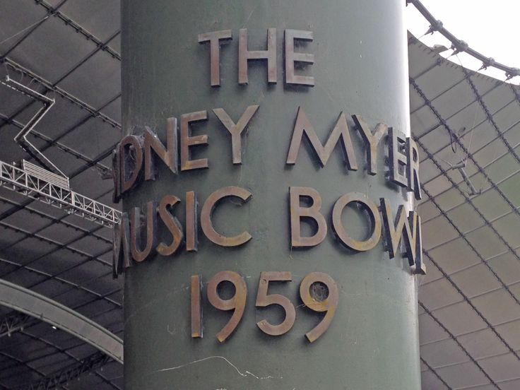 Sidney Myer Music Bowl, Melbourne #melbourne #misslicko #happytypings #fionahudson