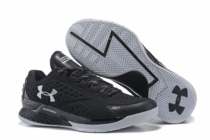 The cheap under armour ua curry1 elite low basketball shoes for men in all black online