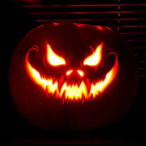 I got A hella scary pumpkin! What Kind Of Jack-O'-Lantern Should You Carve This Year?