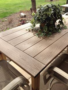 25 best ideas about decking material on pinterest Synthetic wood patio furniture