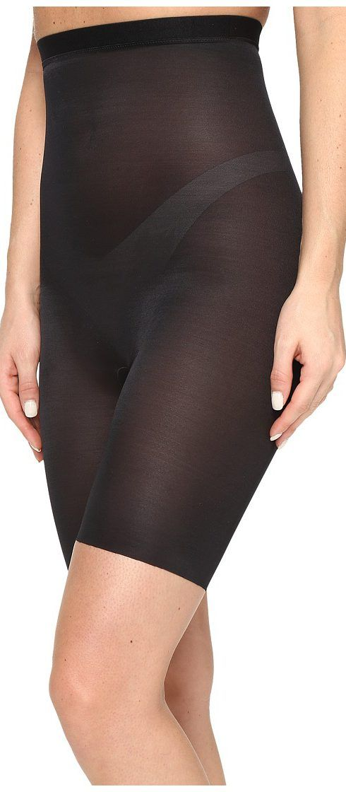 Spanx Skinny Britches High Waist Midthigh Shorts (Very Black) Women's Underwear - Spanx, Skinny Britches High Waist Midthigh Shorts, 10080R-019, Apparel Bottom Underwear, Underwear, Bottom, Apparel, Clothes Clothing, Gift, - Fashion Ideas To Inspire