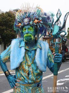 #neptune #poseidon #costume #halloweenmarket #halloween  #грим #макияж #морскаятема #нептун #посейдон Костюм нептуна, костюм посейдона на хэллоуин (фото)