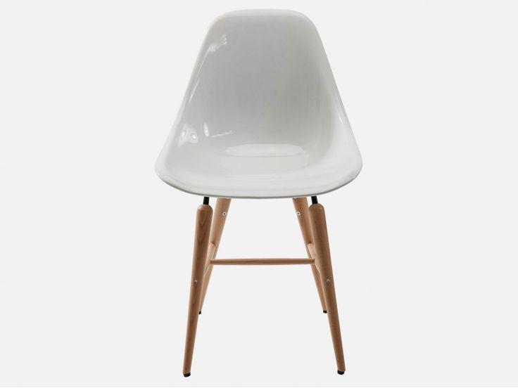 Krzesło Forum Wood I białe — Krzesła — KARE® Design  #KARE #KAREDesign  #furniture  #design  #homedecor #KARE24