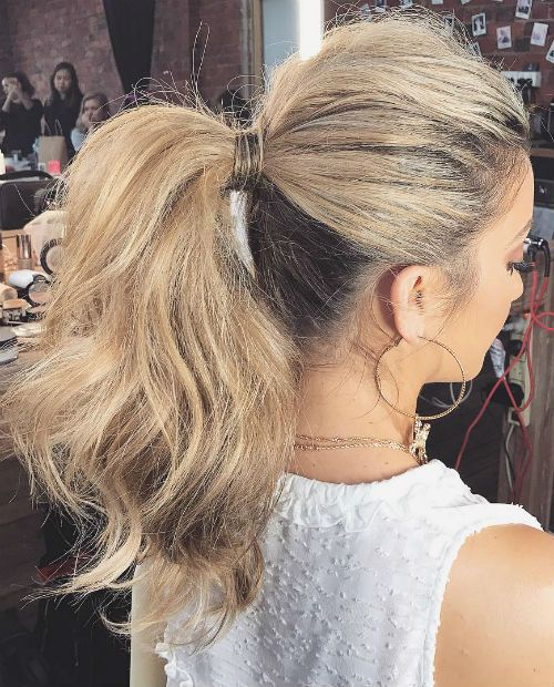 Bemerkenswerte High Pony Frisuren 2019 für Mädchen im Teenageralter