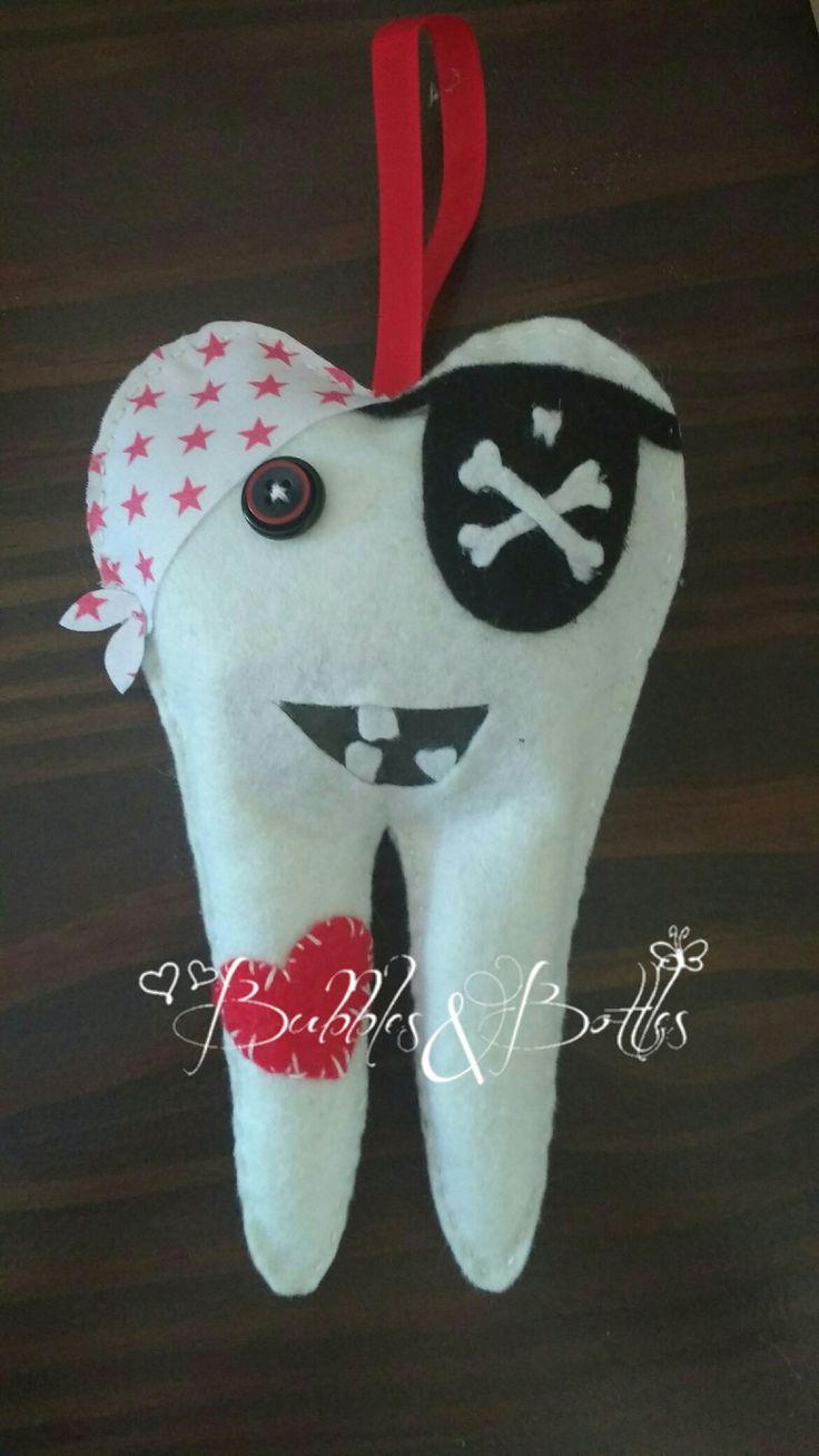 Tandenfeekussen Piraat