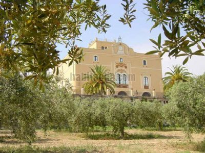 A building of eclectic style, built 1870, surrounded by woods and olive groves, only 40 minutes from Barcelona. Casa Sant Pere de Ribes, Spain