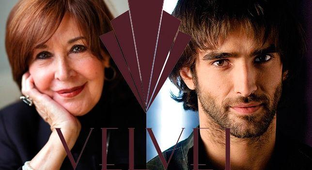 Concha Velasco y Aitor Luna, nuevos personajes de la cuarta temporada de 'Velvet'