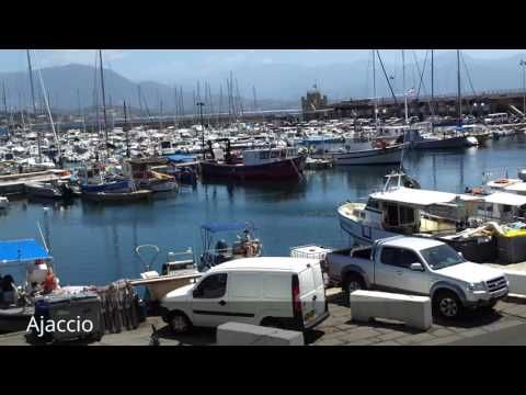Places to see in ( Ajaccio - France )  Ajaccio is the capital of Corsica a French island in the Mediterranean Sea. A port city on the rugged isle's western coast it was the birthplace of French Emperor Napoléon Bonaparte in 1769. His ancestral home Maison Bonaparte is now a museum displaying family heirlooms. The baroque 16th-century Notre-Dame Cathedral where Napoléon was baptized contains paintings by Delacroix and Tintoretto.  Ajaccio is also the largest settlement on the island. Ajaccio…