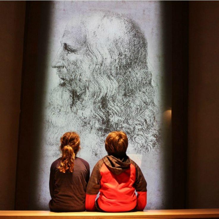 Visiting the birthplace of Leonardo da Vinci.  Vinci, Tuscany,