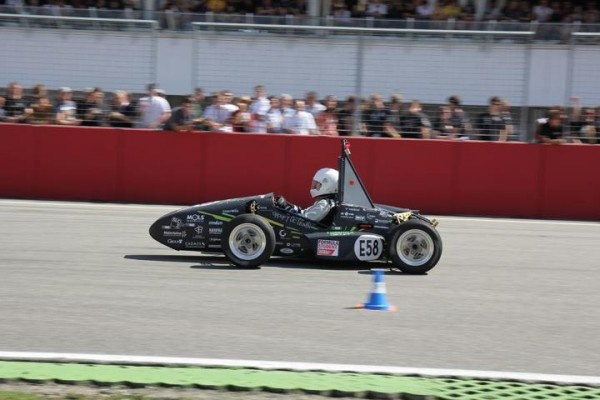 Areion world's first 3D printed race car from Group T for Formula Student 2012 challenge