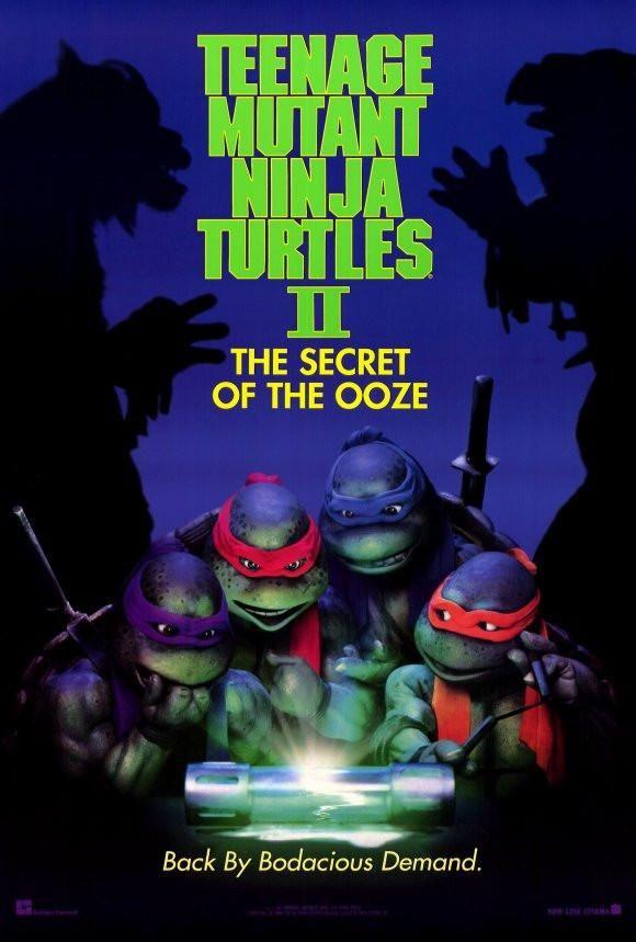 Teenage Mutant Ninja Turtles 2 The Secret Of The Ooze 27x40 Movie Poster 1991 Ninja Turtles Movie Teenage Mutant Ninja Turtles Movie Teenage Mutant Ninja
