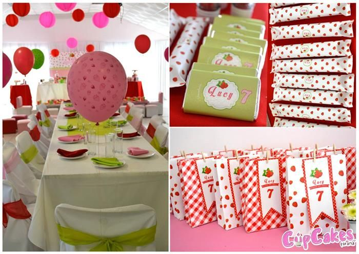 34 best images about strawberry party on pinterest strawberry shortcake vintage strawberry - Strawberry themed kitchen decor ...