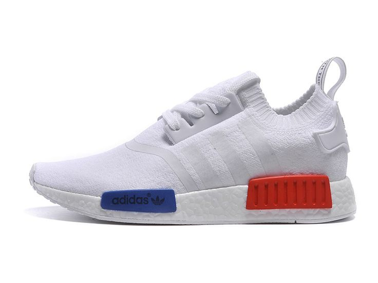 Adidas Nmd Blanche Bleu Rouge