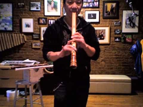 ▶ Plastic PVC, Wood and Bamboo Shakuhachi Flute Demonstration - YouTube