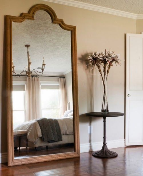 Большие напольные зеркала в интерьере | Sweet home