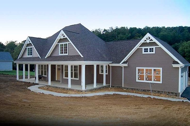 1000 images about beautiful homes on pinterest for 3 car side load garage