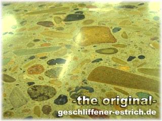 estrich geschliffen wir schleifen Beton und Estriche, polieren und kristalisieren, wir verlegen Fußböden aus Estrich und Beton und kommen aus Berlin, hier in Berlin haben wir viele geschliffene Estrichfußböden und Betonfußböden, welche auch poliert und kristalisiert sind. Ein geschliffener Estrich ist ein schöner und moderner Fußboden und lässt sich auch aus Beton herstellen. Mit natürlichen Pigmenten können sie auch einen farbigen Estrich oder farbigen Beton bekommen. Die Farbe für Estriche…