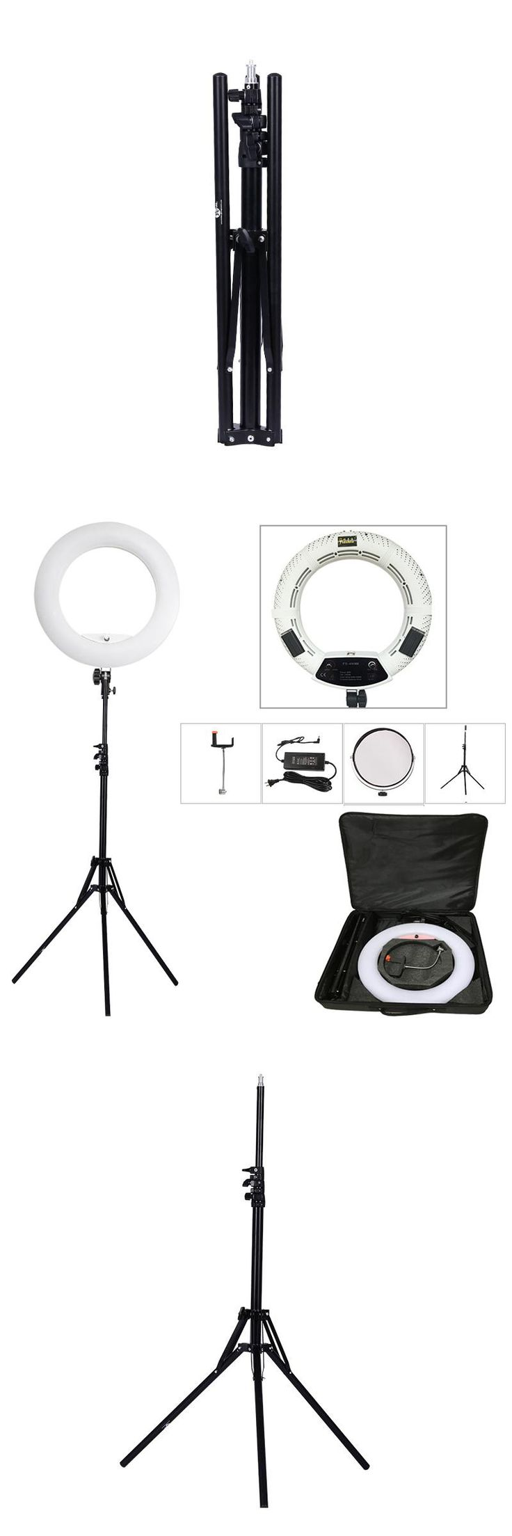 Die besten 25 led lampe ring ideen auf pinterest led led licht yidoblo white fs 480ii 5500k dimmable camera pro 2 color adjustable 1855w 480 parisarafo Choice Image
